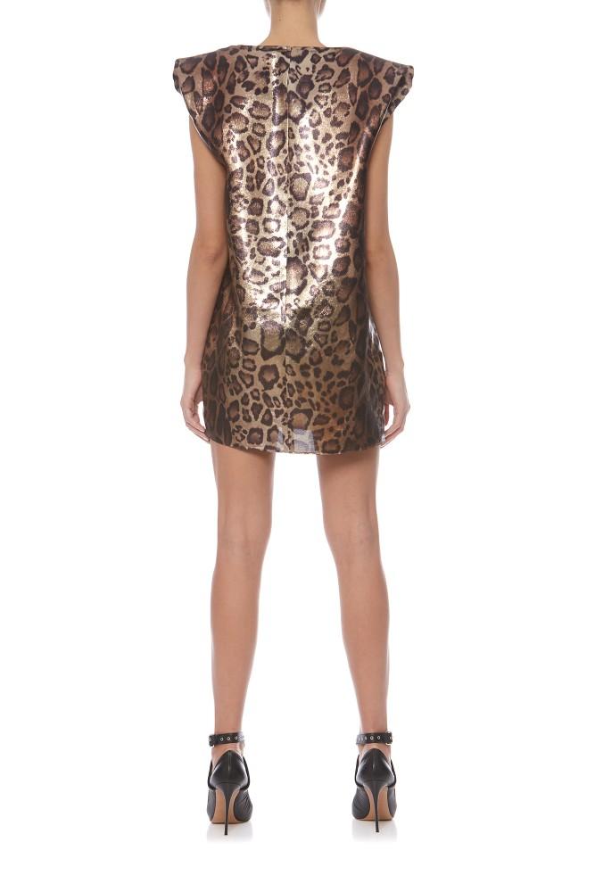 Big Shoulders Dress