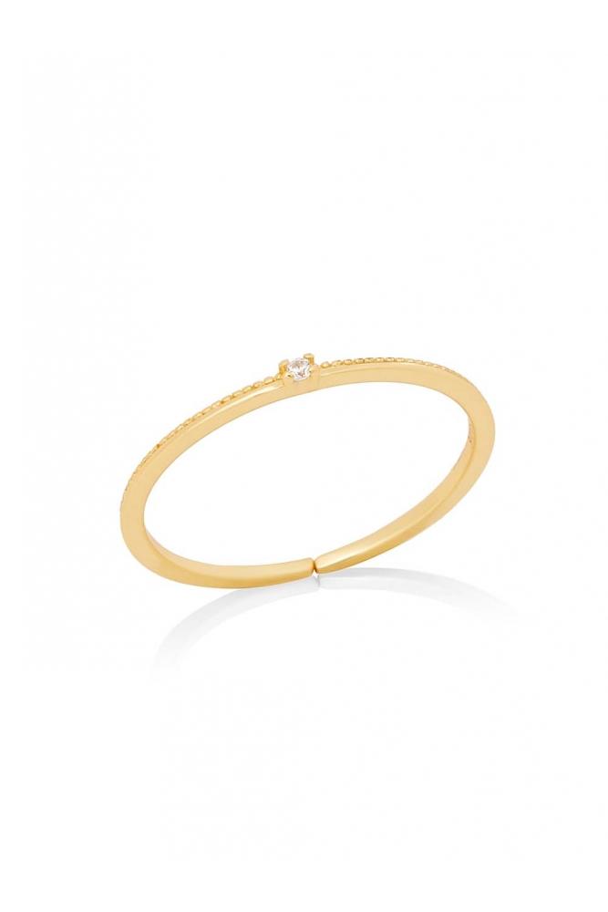Minimalistic Zirconia Ring