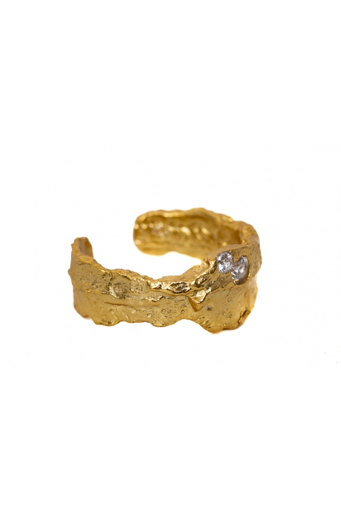 Gold Lava Ring